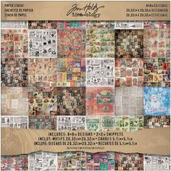 Idea-Ology Paper Stash 8 X8 36/Sheets - Seasonal Collage