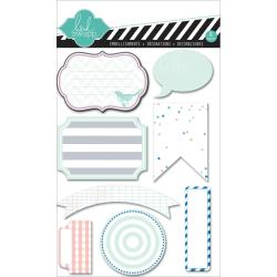 Mixed Company Journal Spots Mini Paper Pads 8/Pkg -