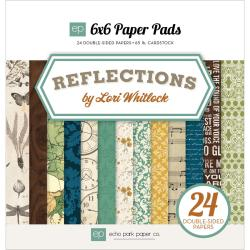 Reflections Cardstock Pad 6 X6 24/Sheets - Double-Sided