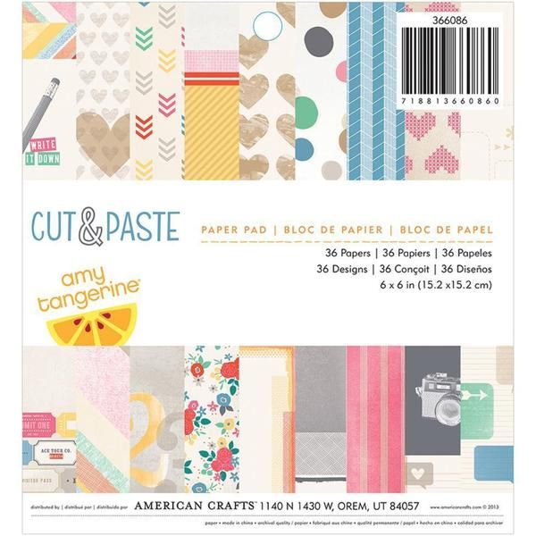 Cut & Paste Paper Pad 6 X6 36/Sheets -