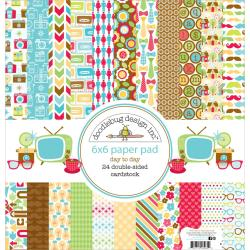 Day To Day Paper Pad 6 X6 24/Sheets - Double-Sided