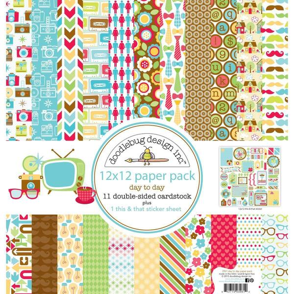 Day To Day Paper Pack 12 X12 -
