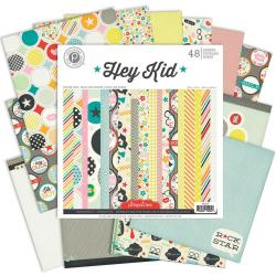 Hey Kid Paper Pad 12 X12 48/Sheets - 24 Single-Sided Designs/2 Each