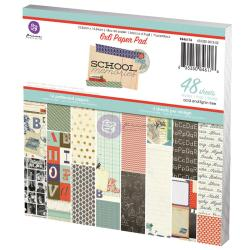 School Memories Paper Pad 6 X6 48/Sheets - 16 Single-Sided Patterns/3 Each