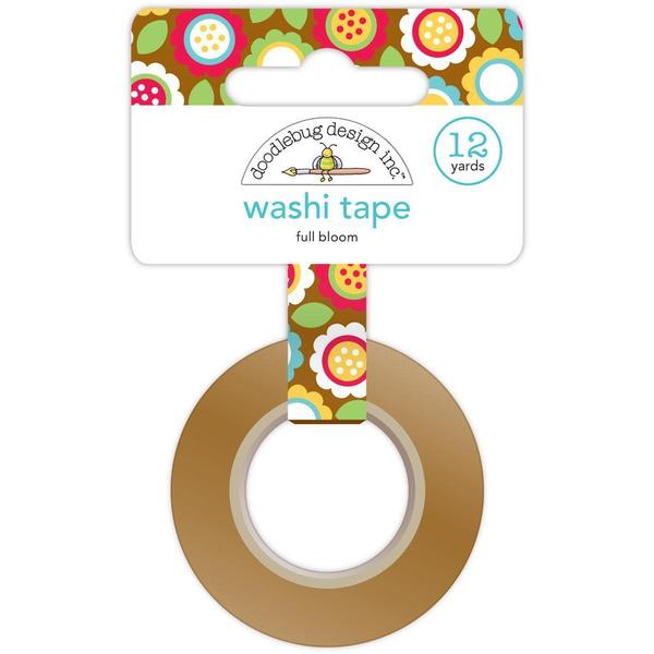 Day To Day Washi Tape 12 Yards - Full Bloom