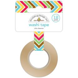 Day To Day Washi Tape 12 Yards - Chic Chevron