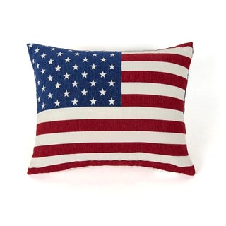 Stars and Stripes Decorative Throw Pillow