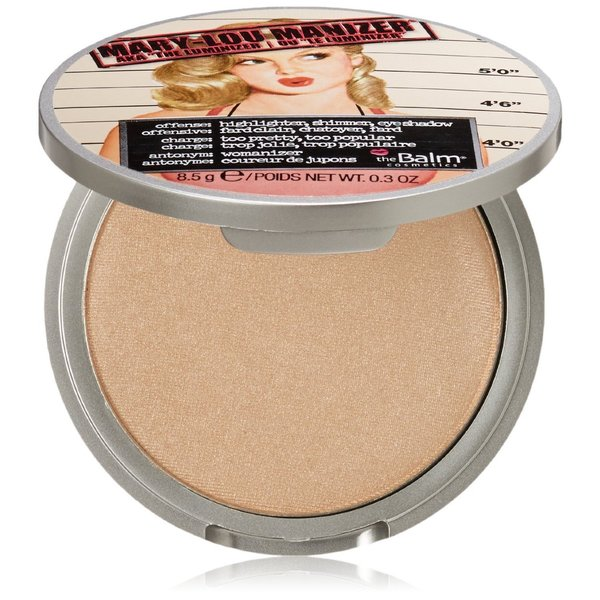 the Balm Mary-Lou Manizer Honey-Hued Luminizer Powder