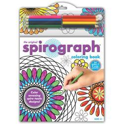 Spirograph Coloring Book W/Pencils -