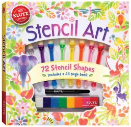 Stencil Art Book Kit -