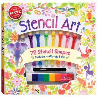 Stencil Art Book Kit -