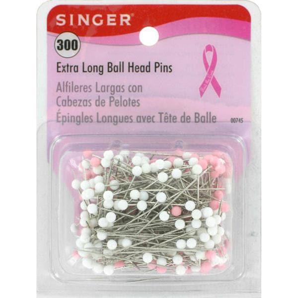Extra Long Ball Head Pins - 300/Pkg