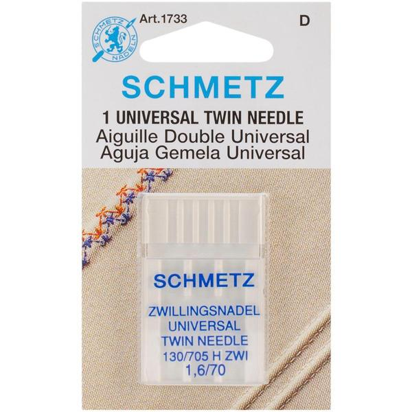 Twin Machine Needle – Size 1.6/70 1/Pkg