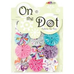 Fabric Palette On The Dot Yo-Yos 1.5 100 Cotton 10/Pkg - Cordero