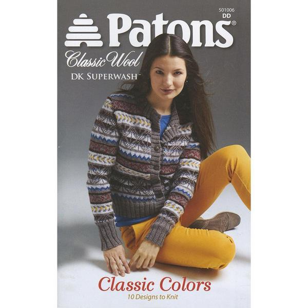 Patons - Classic Wool Dk-Classic Colors Book