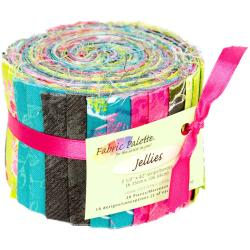 Fabric Palette Jellies 100 Cotton 2.5 X42 Cuts 20/Pkg - Kingston