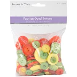 Jumbo Fashion Button Assortment 6oz/Pkg - Tropical