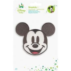 Disney Mickey Mouse Mickey Head Iron-On Applique -