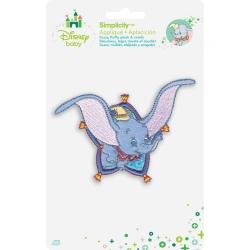 Disney Dumbo Flying Iron-On Applique -