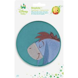 Disney Winnie The Pooh Eeyore Sleeping Iron-On Applique -