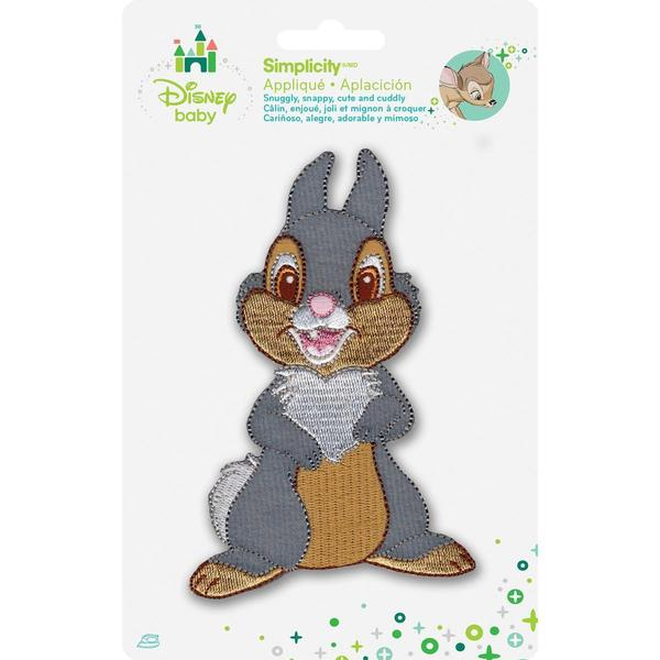 Disney Bambi Thumper Full Body Iron-On Applique -
