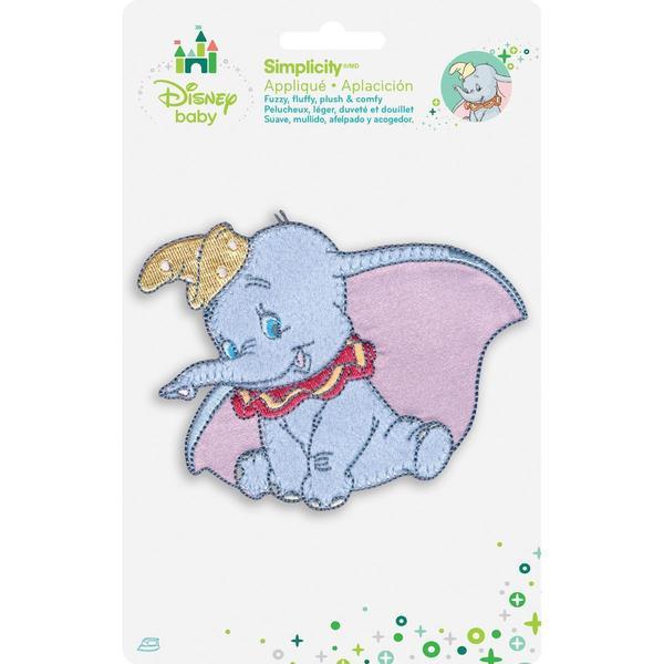 Disney Dumbo Posing Iron-On Applique -