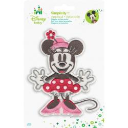 Disney Mickey Mouse Minnie Full Body Iron-On Applique -