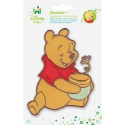 Disney Winnie The Pooh Pooh Honey Pot & Bee Iron-On Applique -