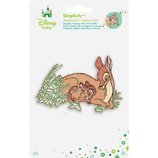 Disney Bambi And Mother Iron-On Applique -