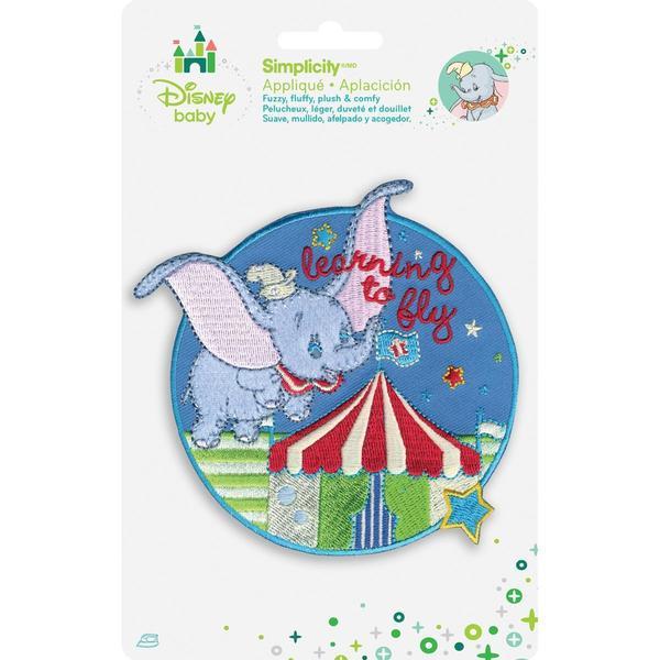 Disney Dumbo Flying Circus Iron-On Applique -