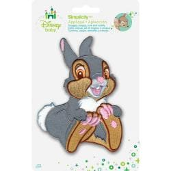 Disney Bambi Thumper Laughing Iron-On Applique -
