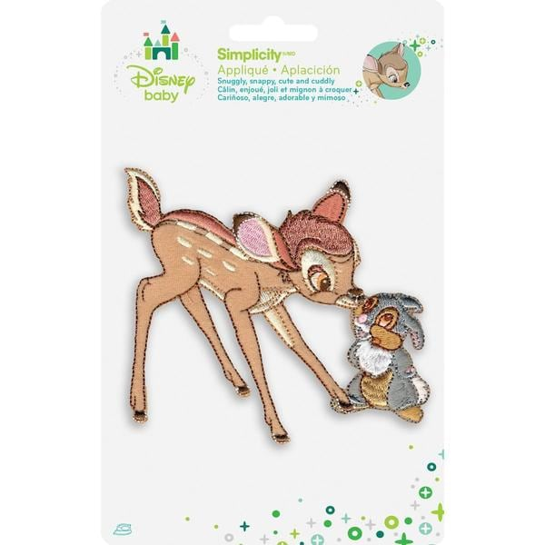 Disney Bambi & Thumper Iron-On Applique -