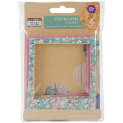 All About Me Chipboard Frames 6/Pkg -