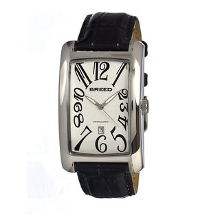 Breed Women's 'Carraway' Stainless Steel White Analog Watch
