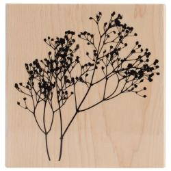 Penny Black Mounted Rubber Stamp 4 X4 - Berry Tree