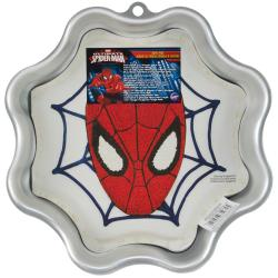 Novelty Cake Pan - Spider-Man 9.5 X14 X2