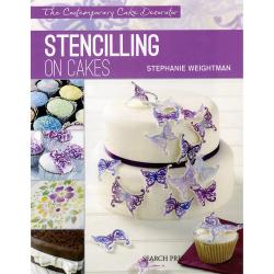 Search Press Books - Stenciling on Cakes