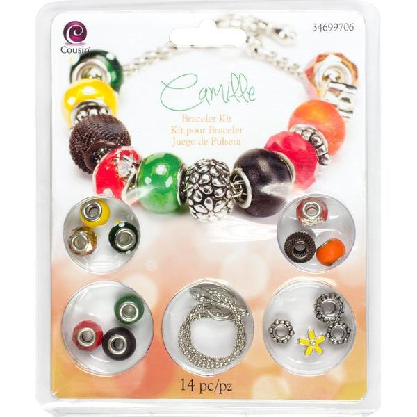 Large Hole Bracelet Kit - Camille 14pcs