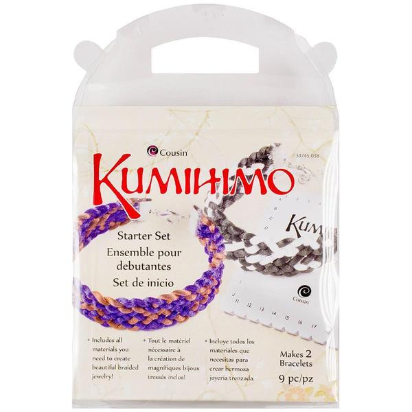 Kumihimo Starter Set - Square 9pcs