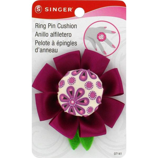 Sew Cute Ring Pin Cushion - Flower Design