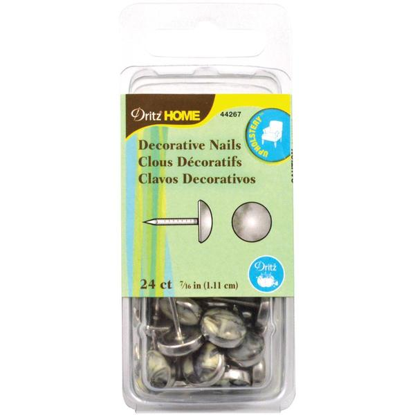 Upholstery Decorative Nails 7/16 24/Pkg - Gray Stone
