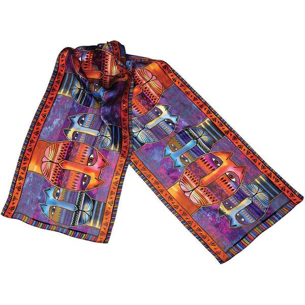 Laurel Burch Scarves - Three Amigos