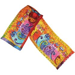 Laurel Burch Scarves - Feline Tribe