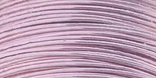 Permanently Colored Copper Wire 28 Gauge 15 Yards - Rose Gold