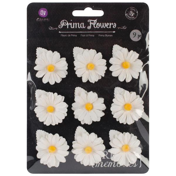 Lil Missy Mulberry Paper Flowers 1 To 1.5 9/Pkg -