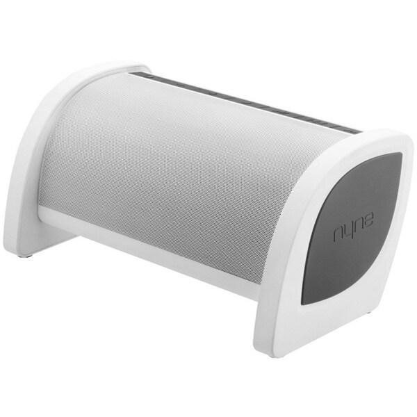 Nyne Bass White/ Grey Bluetooth Speaker
