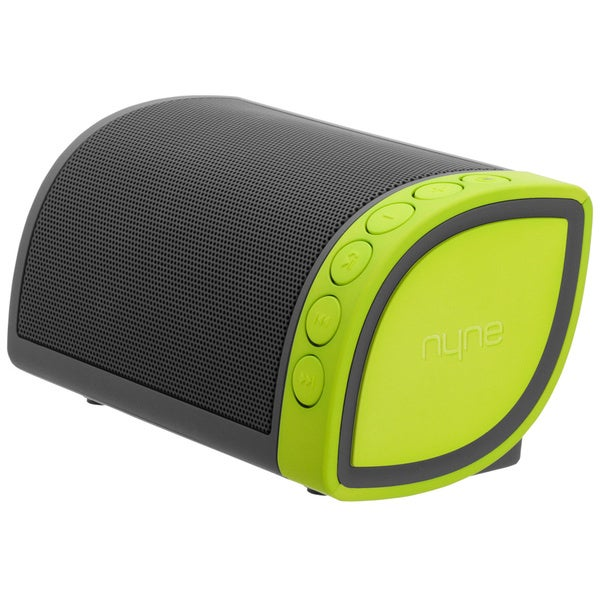 Nyne Cruiser Portable Grey/ Green Bluetooth Speaker