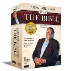 James Earl Jones Reads the Bible: The Entire KJV New Testament (CD-Audio)