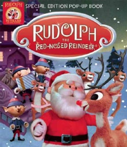 Rudolph the Red-nosed Reindeer Pop-up Book (Paperback)