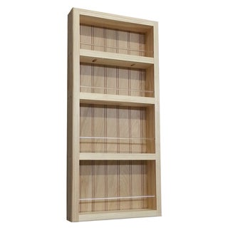 Natural Pine Wall-mount Spice Rack II